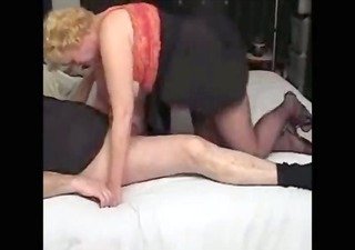 wicked auntie footjob