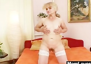 mature dominika old love tunnel gaping and