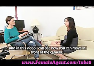 femaleagent. ultimate casting agonorgasmos for