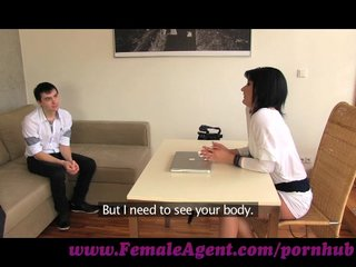 femaleagent. mother i casts young nervous stud