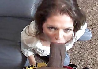 mature june summer blowjob a darksome dude